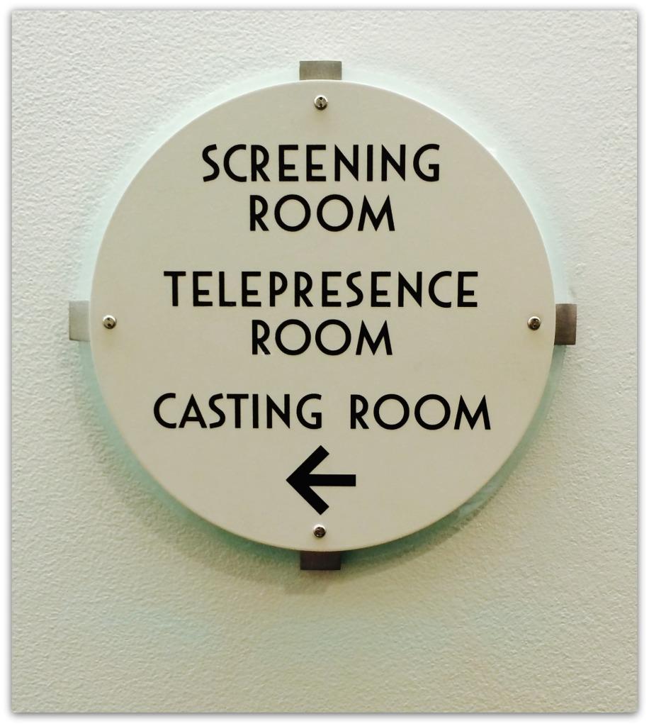 blackish screening sign