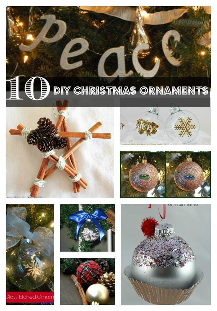 Love to make Christmas Ornaments for decorating the tree, sell at craft fairs, or decorate wreaths? Many of these DIY crafts use supplies that you probably have on hand. It's a great gift idea, too! I love giving DIY gifts! Each one is a work of art from the heart!
