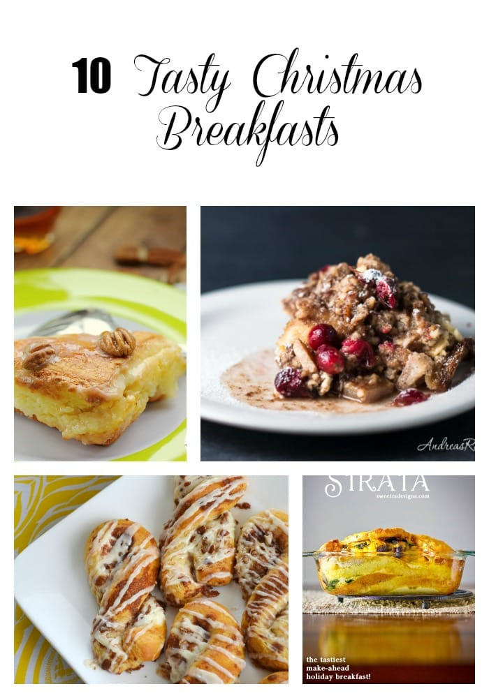 With the organization of Christmas gift buying, sending cards, and attending parties, planning the food for Christmas breakfast is usually not something we think to do. The aroma from your kitchen when waking up to a delicious breakfast will be a great start to the day! Enjoy these Christmas recipes!