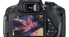 Canon T5i camera