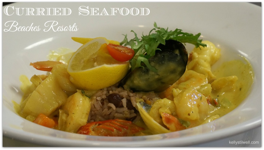 beaches curried seafood