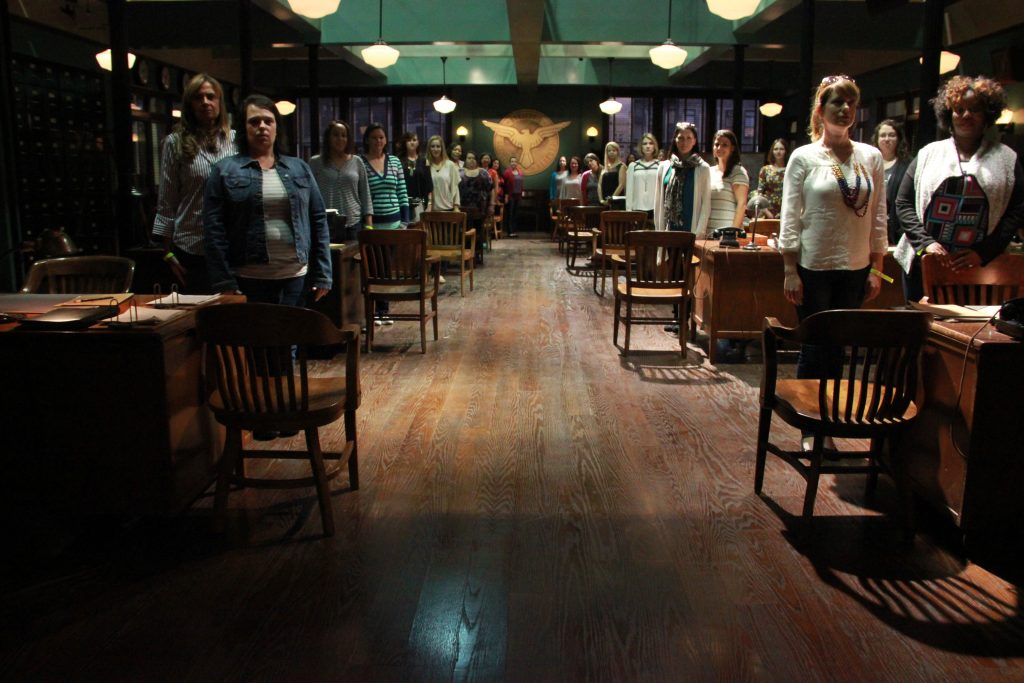 Agent Carter Group At attention_group