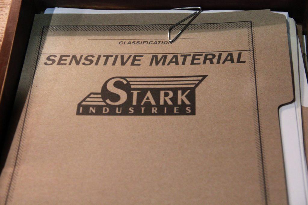 Agent Carter Stark Industries sensitive material