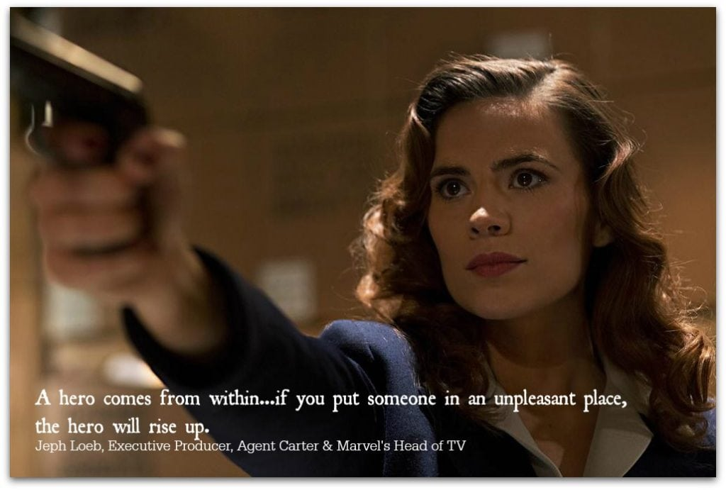 Agent Carter is the latest from Marvel and ABC, and fans are going to love it. We finally get to see more about Peggy Carter from Captain America!