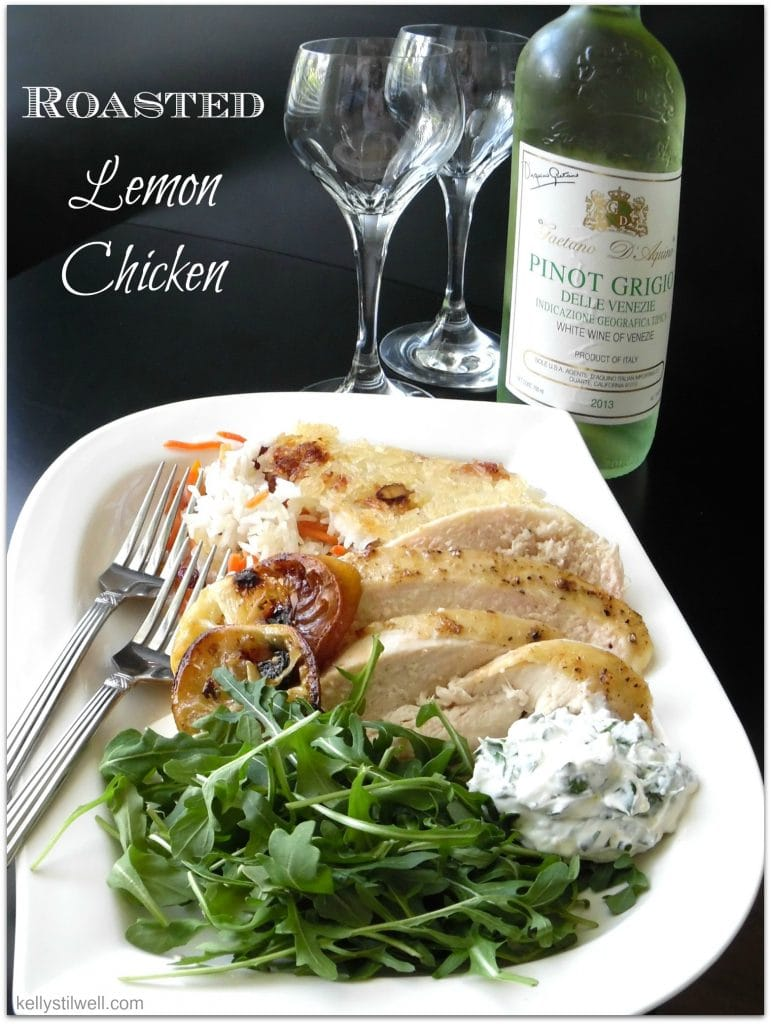Looking for an easy dinner recipe for a special night? This is one of the best chicken recipes I've made. The rice takes a little time to prepare, but then you can relax with a bottle of wine and perhaps a salad while you wait.