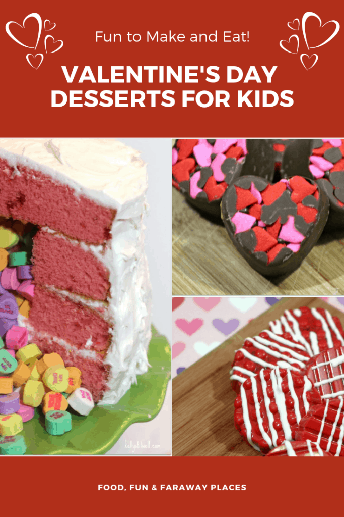 These Valentine's Day Desserts are so much fun to make. Though Valentine's Day was created as a day to celebrate romance for couples, it's really always been a fun holiday for kids, too. #Valentines #valentinesday #valentinesdayparty