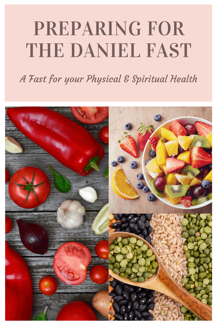 Preparing for the Daniel Fast makes your life so much easier when you're ready to begin. There is nothing that will derail you like looking for something you can eat and finding nothing in your pantry except processed foods.