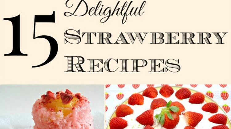 Strawberries are one of our favorite fruits, and they are even better in summer. We had a garden when we lived in Maryland, and had lots of strawberries! Looking for a list of food you can make with this delicious fruit? I've got 15 easy recipes from some of my favorite bloggers! You'll find dessert recipes, breakfast recipes, and snack ideas, too!