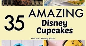 Disney-themed cupcakes for Pinterest.