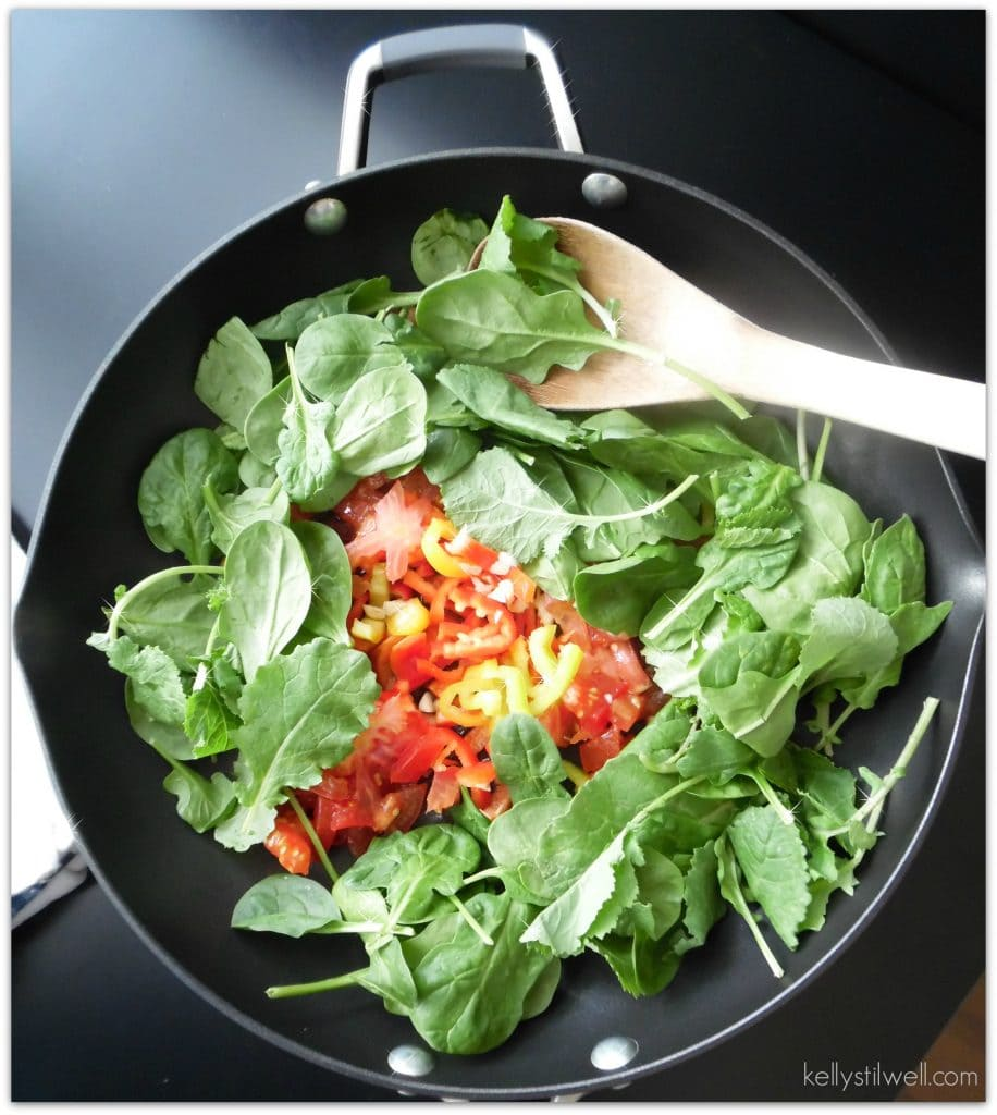 paleo dinner in pan