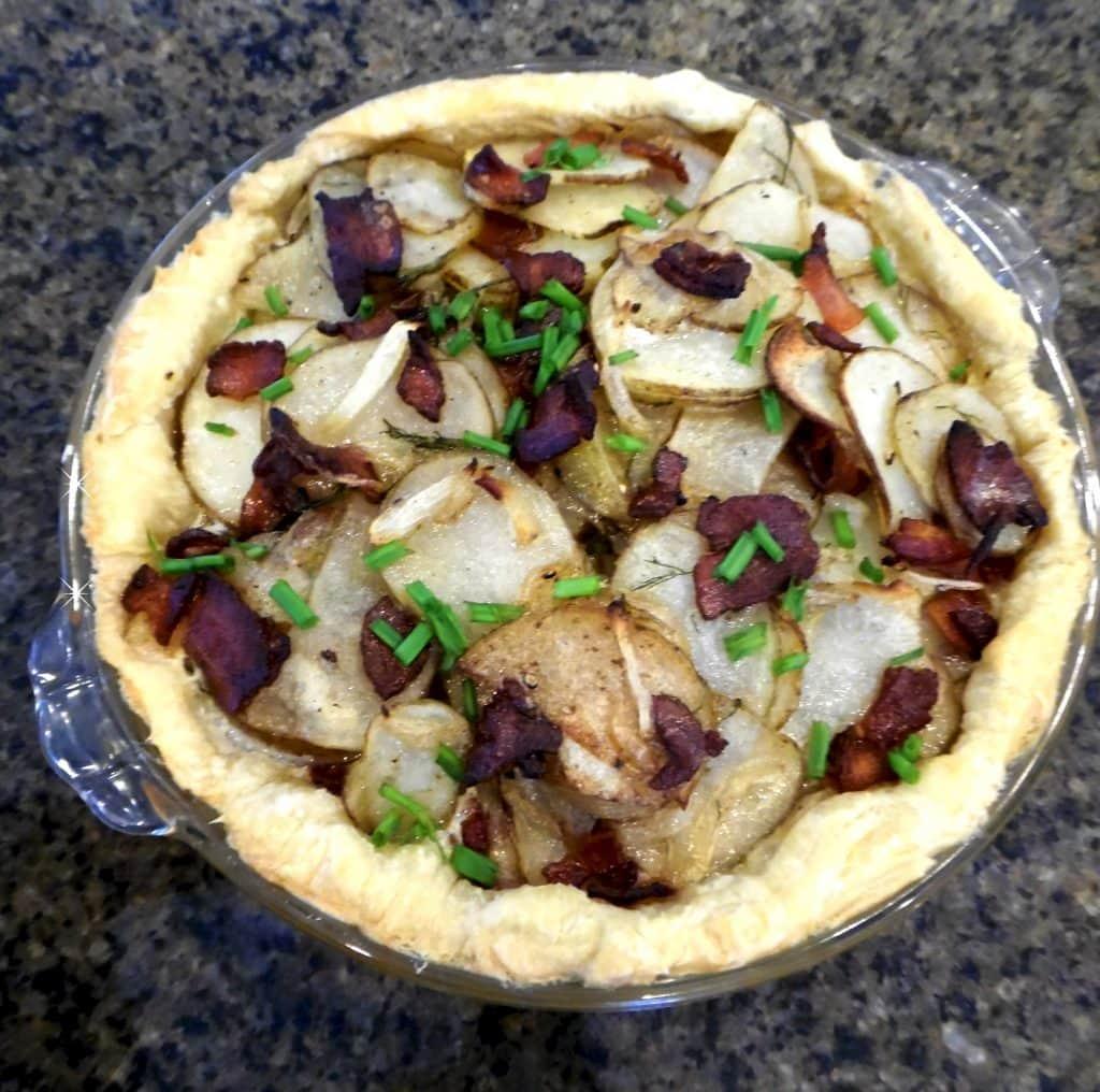 potato pie complete