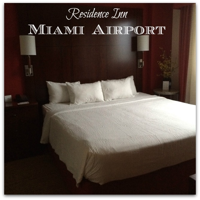 The Residence Inn Miami was one of my favorite hotels yet. It wasn't as fancy as others I've visited, but it was bright and comfortable. Perfect for what I was looking for.