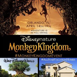 Follow Along with 25 Bloggers for #MonkeyKingdomEvent! #AllStarVacationHomes #DisneySide