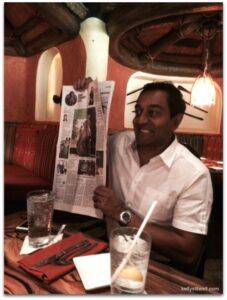 Chatting with Dr. M. Sanjayan, Disneynature Ambassador #MonkeyKingdomEvent
