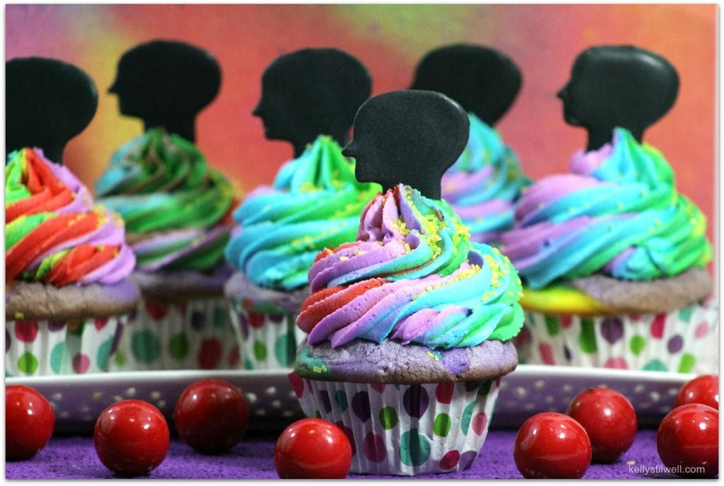 These cupcakes are the perfect recipe for a Disney Pixar Inside Out celebration! The full recipe is included here!