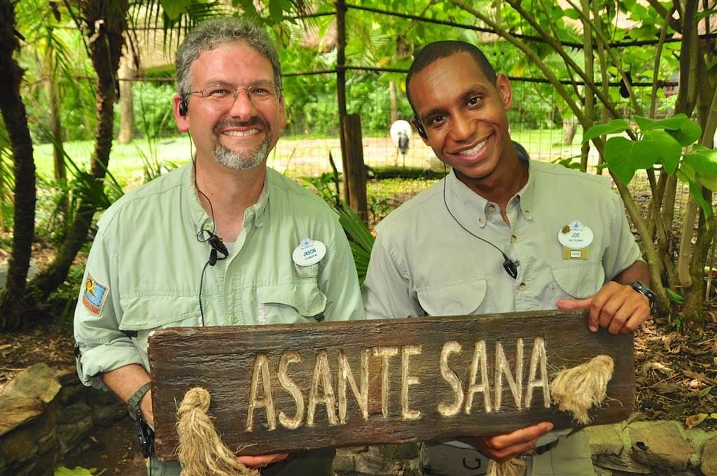 Disney's Animal Kingdom Wild Africa Trek is a VIP guided tour of the Kilimanjaro Safari. Though it is an additional fee, the experience is exceptional, even including a traditional African meal eaten in a Boma.