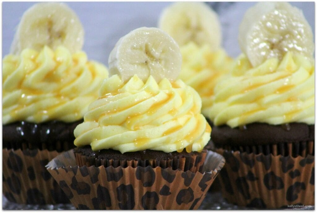 These Chunky Monkey Cupcakes were made in celebration of the new Disneynature film, Monkey Kingdom. Everyone loves Disney, and Just about everyone loves fruit, right? This cupcake recipe has both apples and bananas in it! It's a moist and delicious dessert, perfect for snacking on before or after seeing Monkey Kingdom.