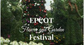 EPCOT International Flower and Garden Festival 2015 #MonkeyKingdomEvent