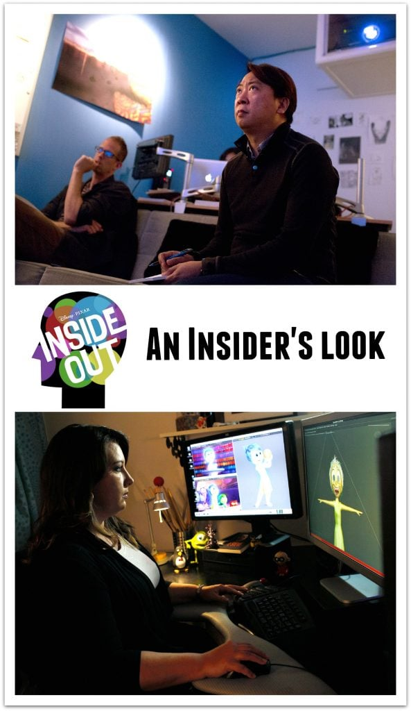 A look at Inside Out at Pixar Animation Studios