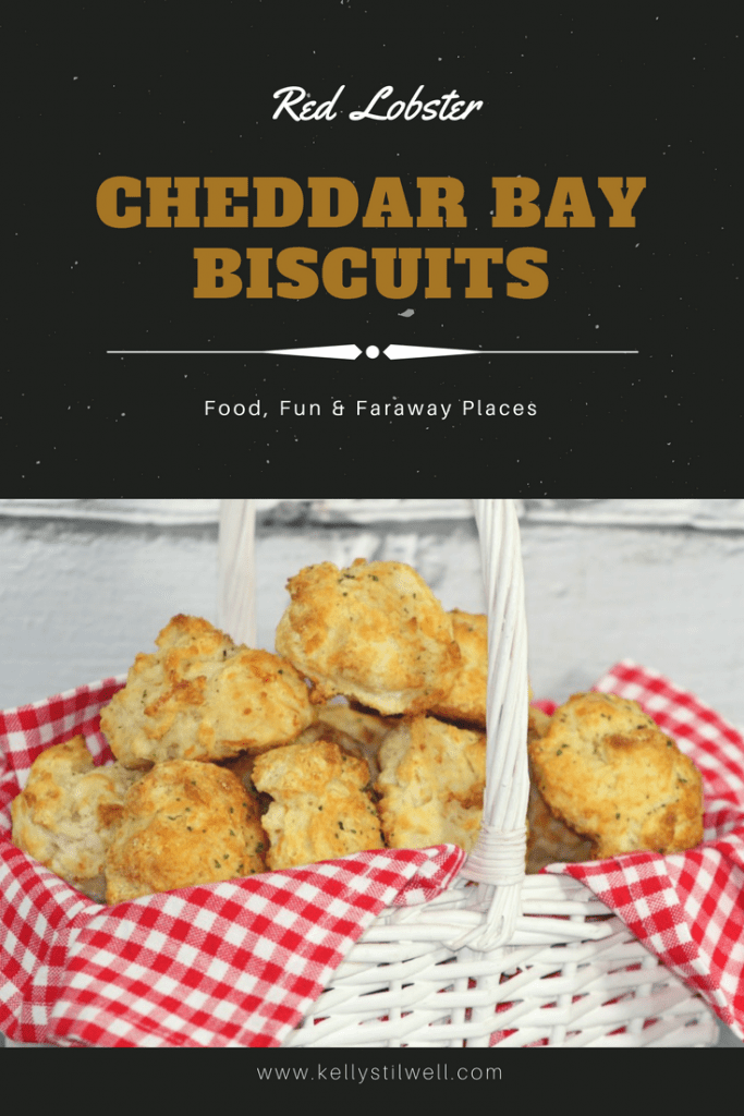Have you tried the Red Lobster Cheddar Bay biscuits? For me, bread makes any meal better. Just give me comfort food and I'll be fine!