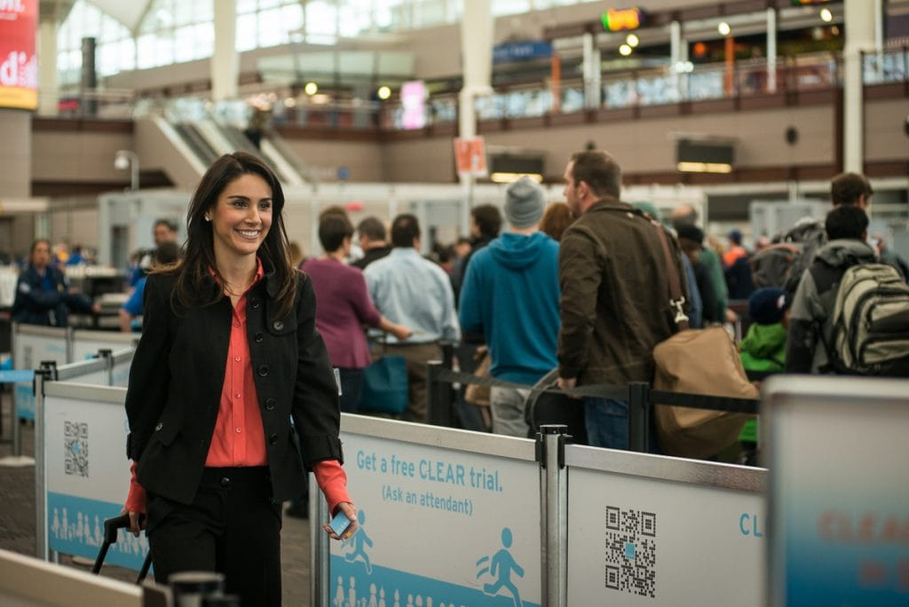 The Clear program is revolutionizing the long wait to get through security!