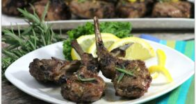 Lamb chops are so delicious on the grill. Simply adding lemon, rosemary and garlic along with great timing will make an unforgettable dinner! This recipe will walk you through preparing a perfect meal for family or friends.