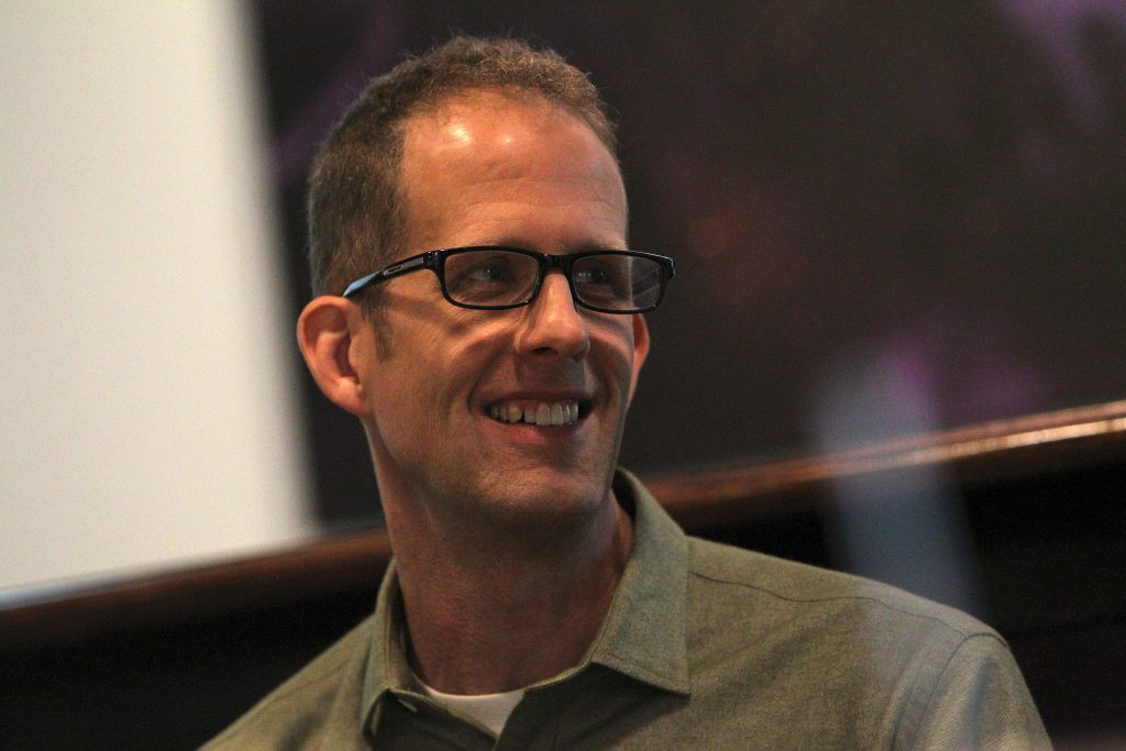 "The ""Inside Out"" Long Lead Press Day, including presentations by Director Pete Docter and Producer Jonas Rivera, as seen on March 31, 2015 at Pixar Animation Studios in Emeryville, Calif. (Photo by Deborah Coleman / Pixar)"