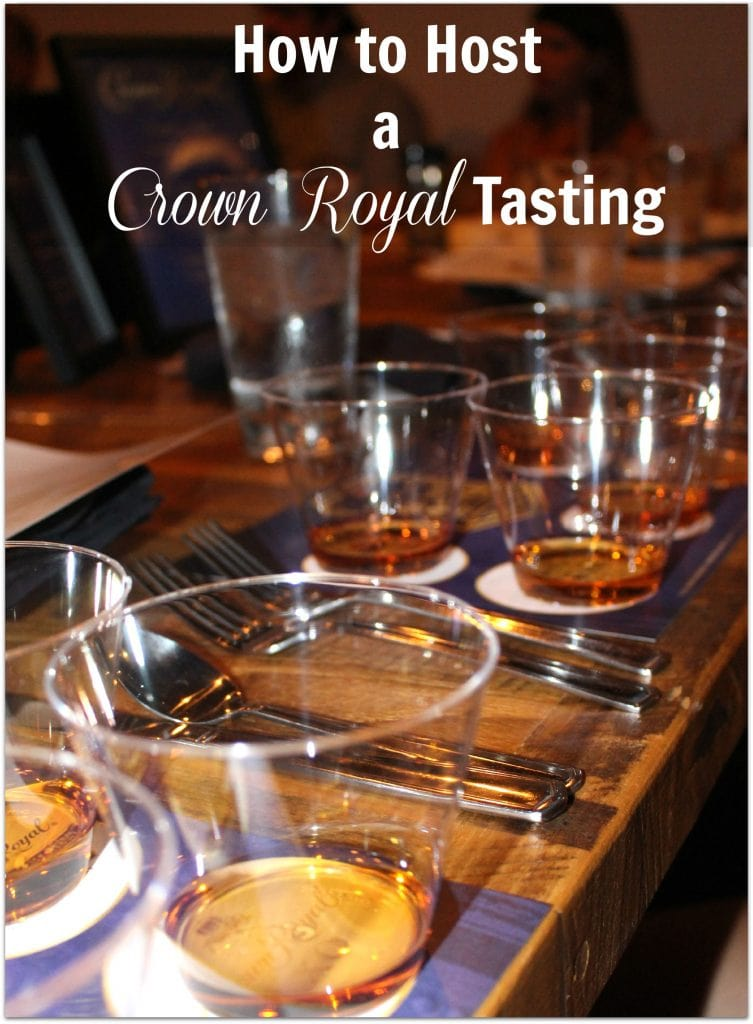Planning an adult party? Looking for a unique idea? Host your own Crown Royal Tasting with this free printable tasting mat.