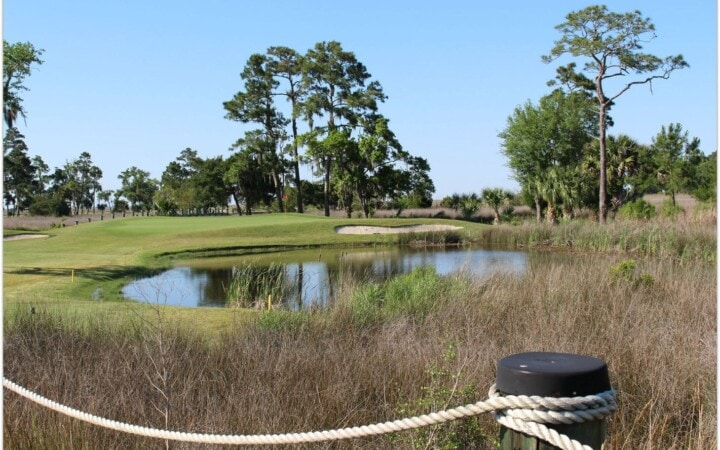 The King and Prince Beach and Golf Resort has a golf course that draws golfers from all over the country! It's a must when visiting St. Simons Island.