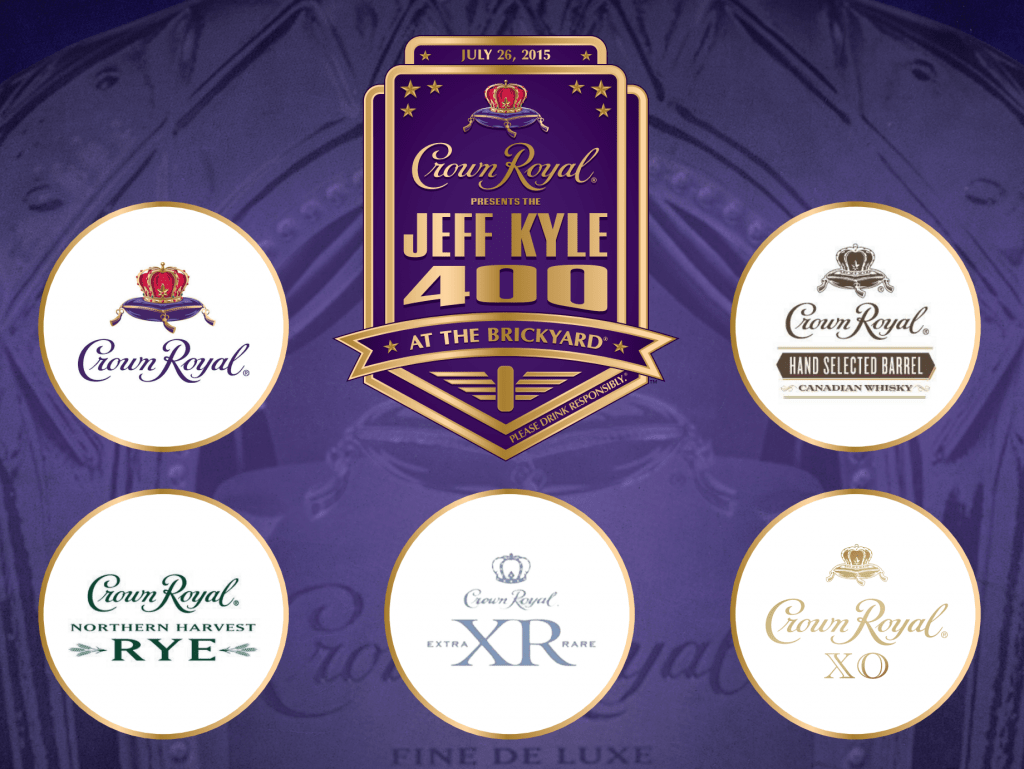Crown Royal Tasting Mat