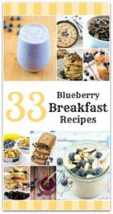 33 Blueberry Breakfast Recipes