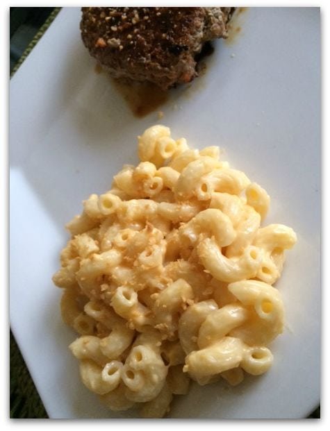 Garlic Gold mac and cheese