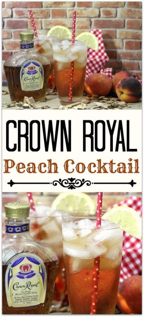 Royal peach cocktail food fun faraway places this crown royal peach cocktail is delicious and refreshing the flavor of the canadian whisky forumfinder Image collections