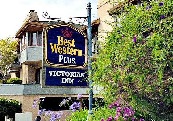 The Victorian Inn on Cannery Row in Monterey California was just lovely. The beds were so comfortable and the staff so friendly and welcoming!