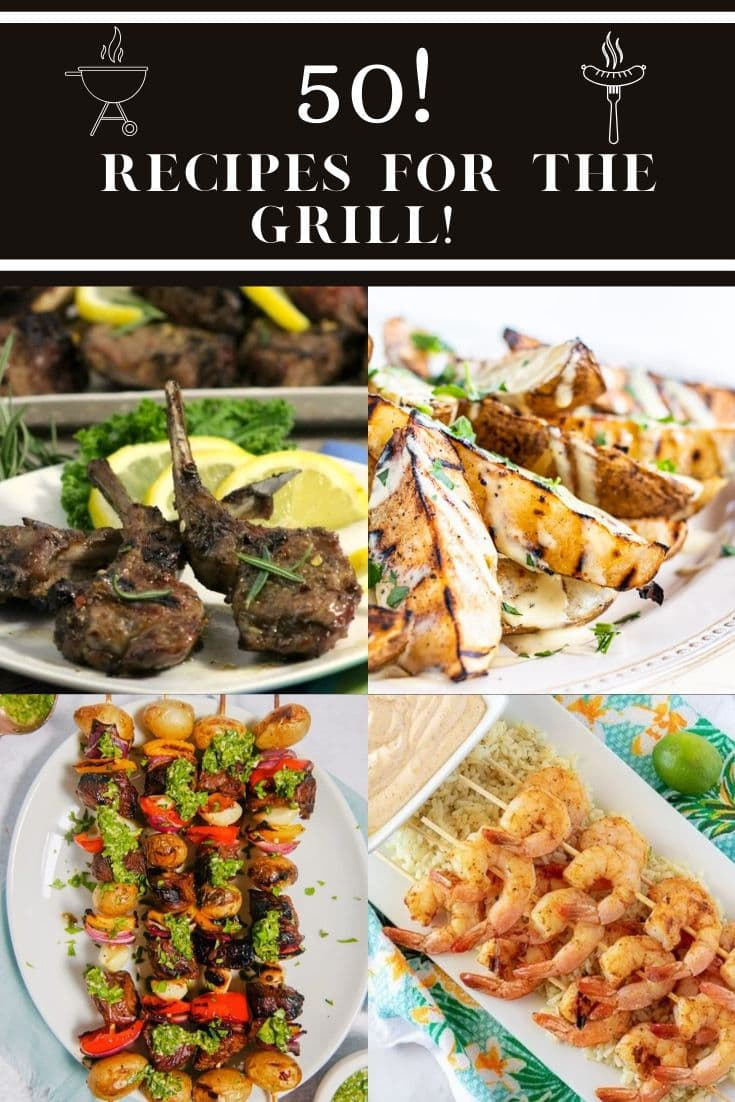 With so many great summer grilling recipes on hand, you can spend more time enjoying the warmer weather!