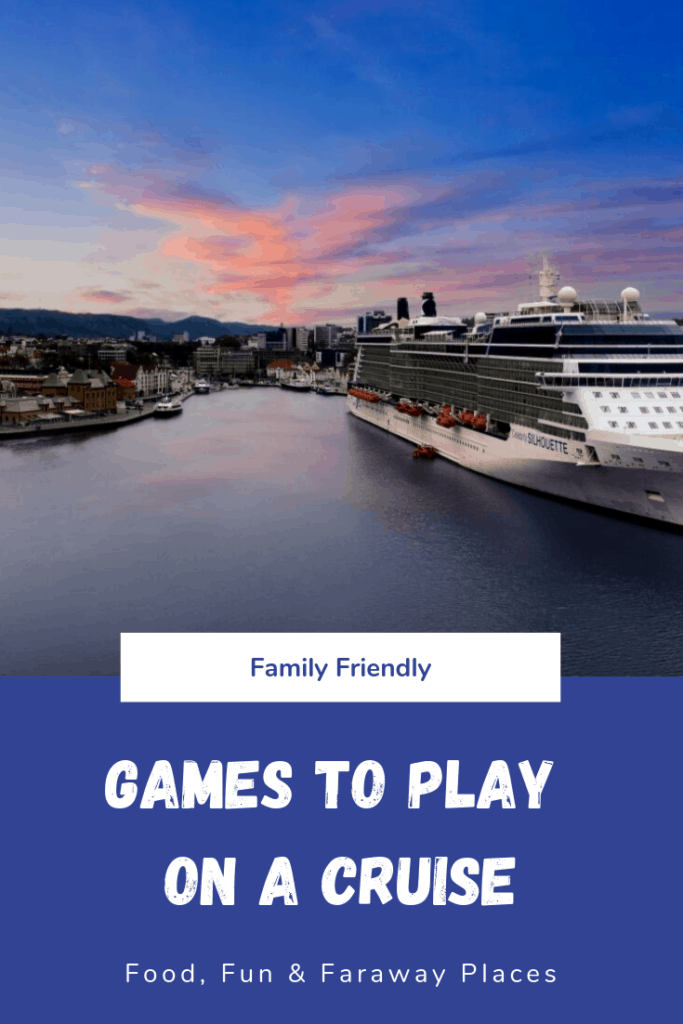These fun cruise ship games are another way to plan ahead and make your cruise really special.