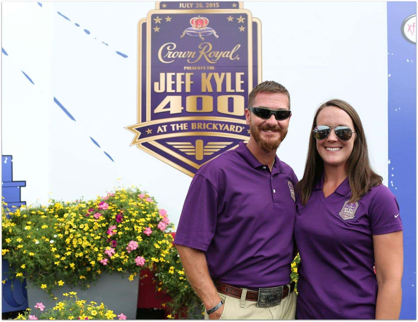 Crown Royal Presents The Jeff Kyle 400 At The Brickyar at Indianapolis Motorspeedway on July 26, 2015 in Indianapolis, Indiana.