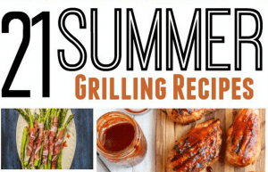 These Summer grilling recipes are perfect for your next party! We've even got some vegetables so you've got a well rounded meal as well as options for vegetarians. Choose your favorite recipe and be sure to come back and let me know how it turns out! Happy grilling!