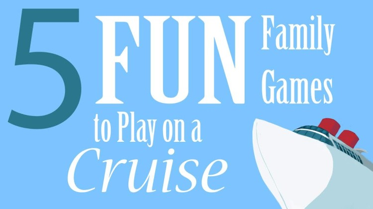 Cruising is such a fun way to vacation with friends, and these games will keep everyone connected! Be sure to have prizes for the winners!