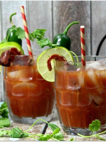 I love a good Bloody Mary, and putting a southwest spin on it makes it even more delicious! Even better? We've added BACON!