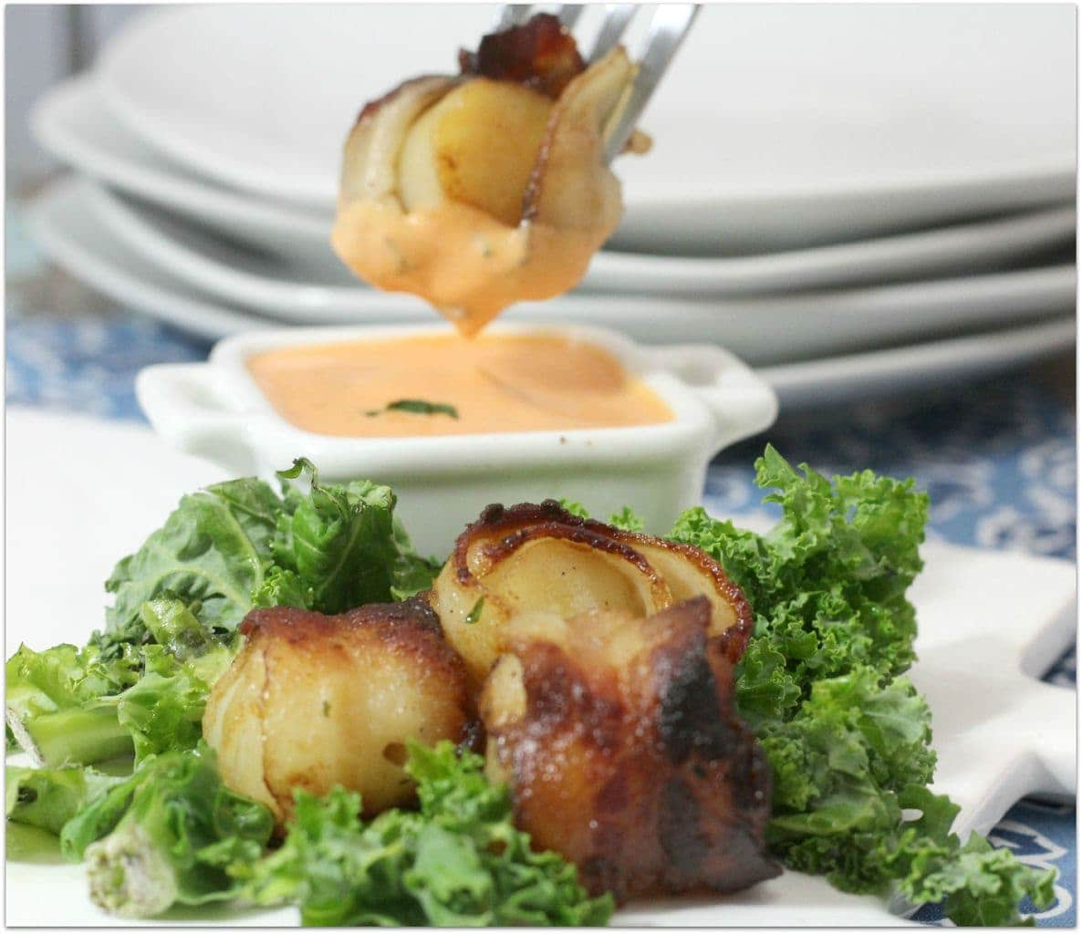 These Bacon Wrapped Scallops are so delicious! Scallops are a favorite ...