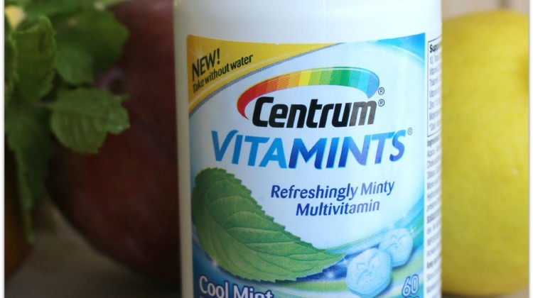 Centrum® VitaMints® offers you a truly unique, and surprising pleasant-tasting, refreshingly minty multivitamin in Cool Mint flavor, which can be taken with or without food or water, from America's most-preferred multivitamin brand, Centrum®.