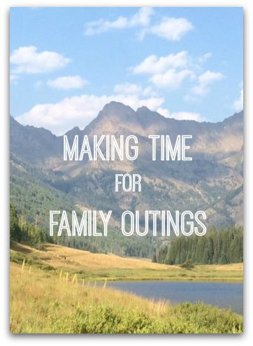Even though we are all busier during the school year, we need to make time to enjoy our families. But it's not something that will just happen. You have to make it happen by planning family outings a couple of times a month. Make it happen by planning with these tips!