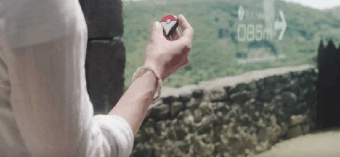 With the new Pokemon Go app, you can explore your environment like never before, and find Pokémon in real-world locations- even near your own home!