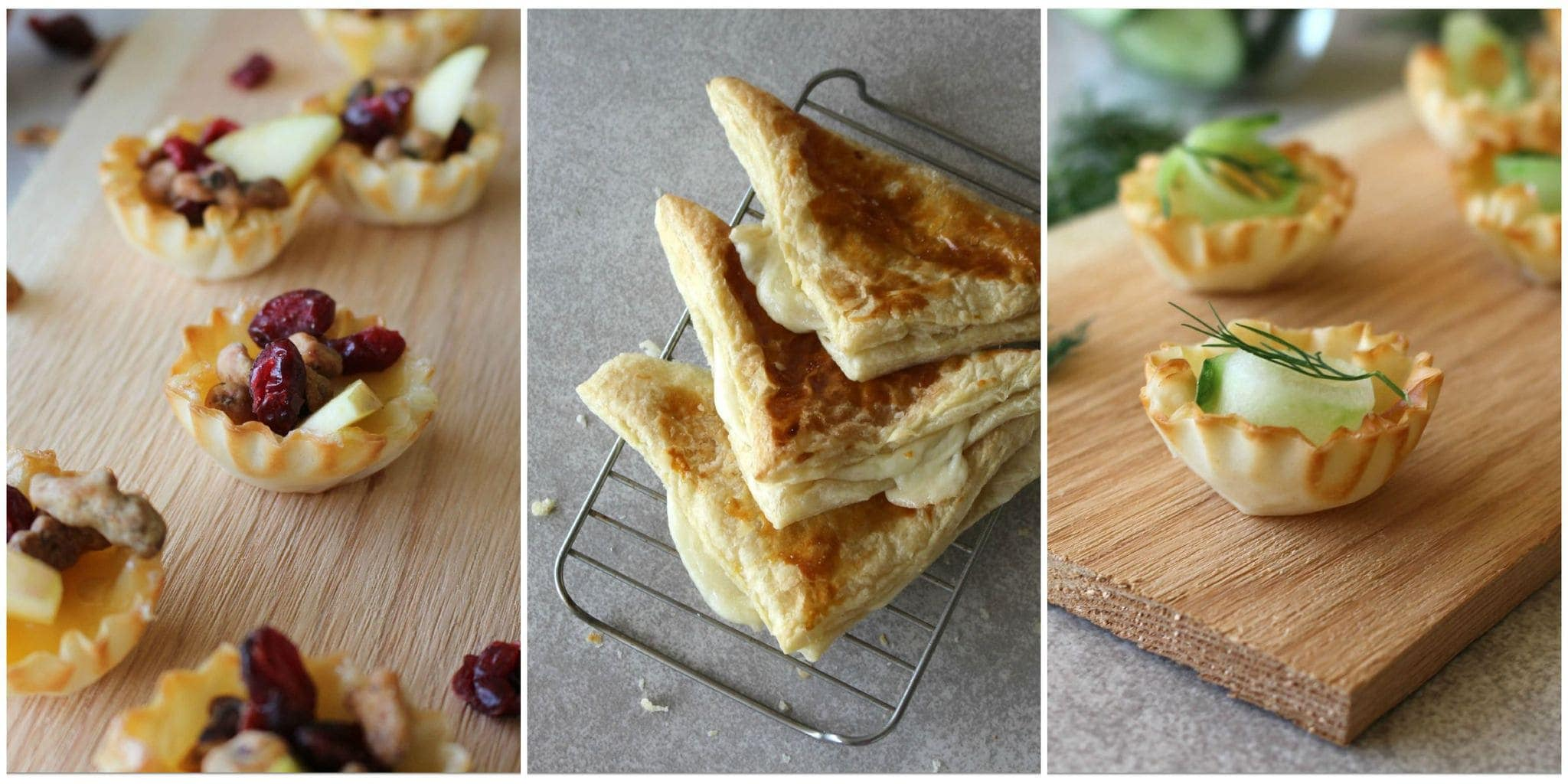 These three recipes are perfect for a healthy after school snack!