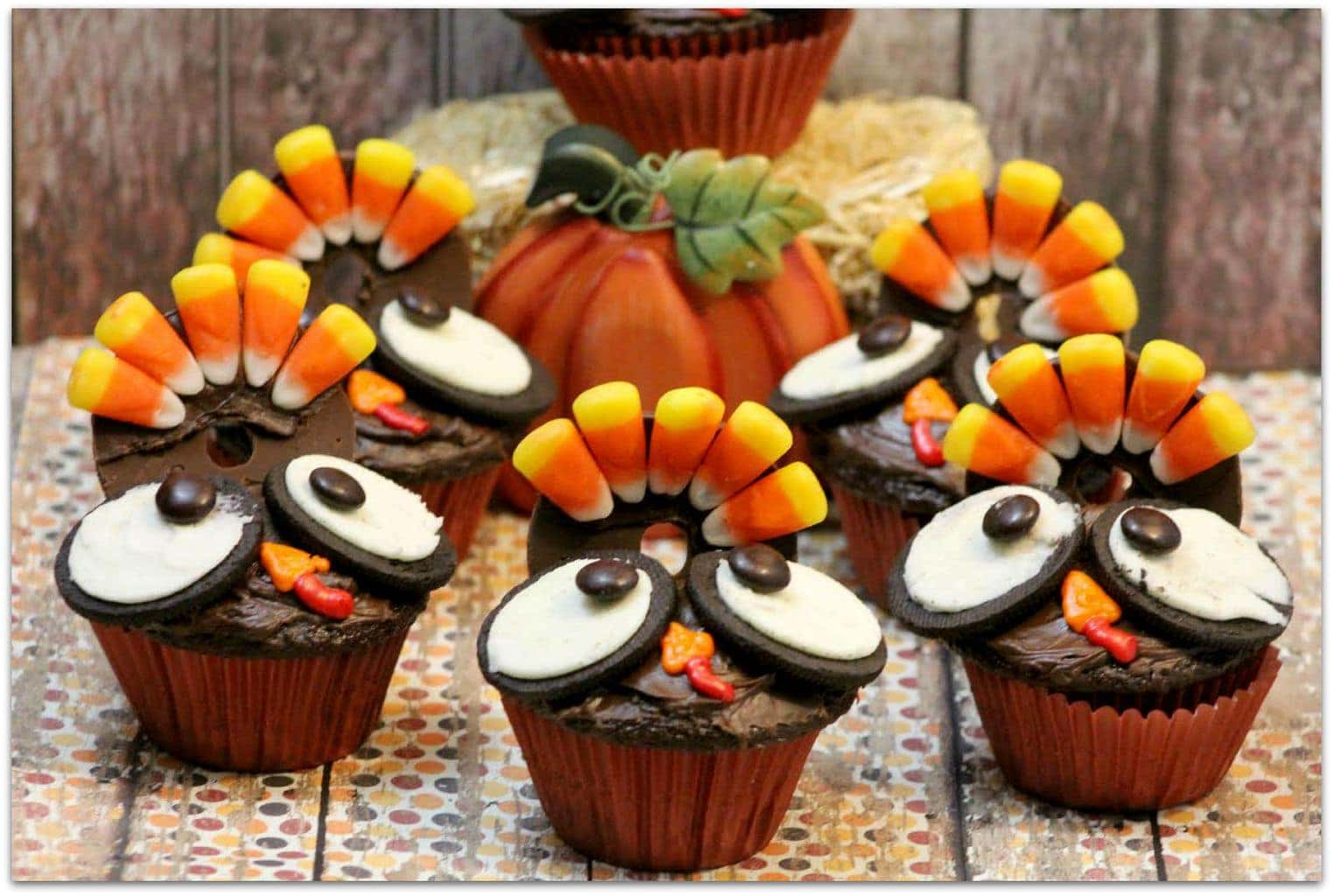 Decorating Ideas > Thanksgiving Turkey Cupcakes  Food Fun & Faraway Places ~ 074229_Thanksgiving Recipes Decorations