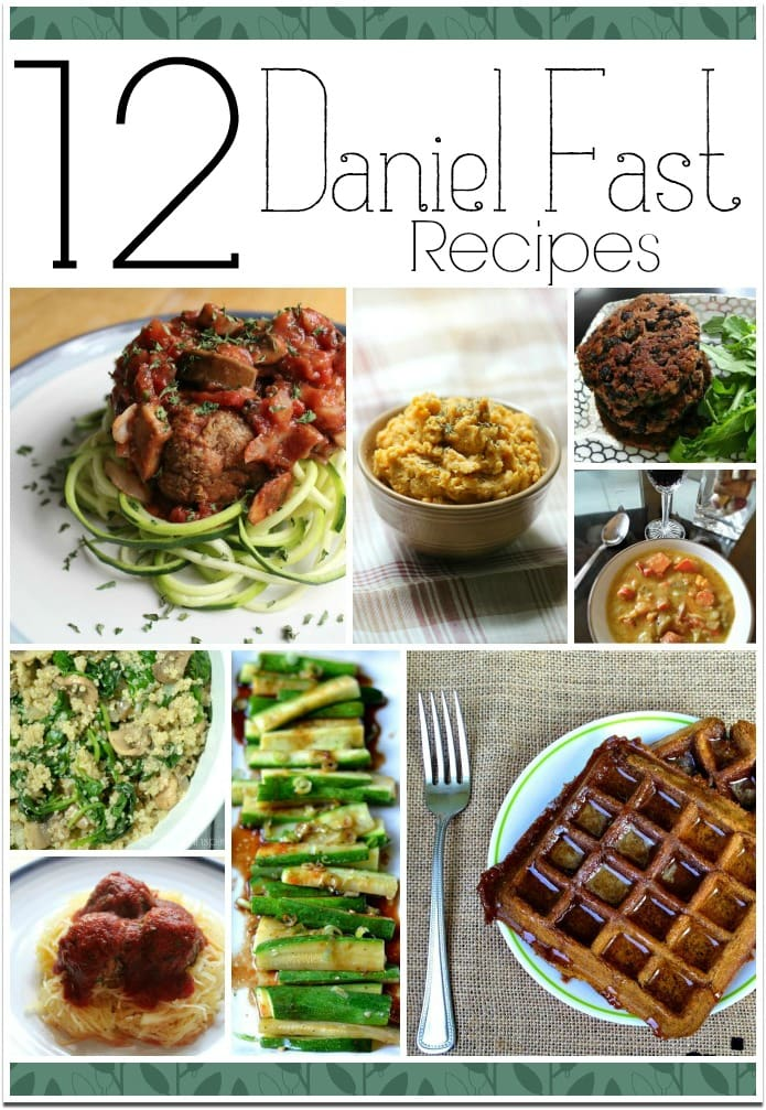 The Daniel Fast is a diet of sorts, where you eat only the kind of things eaten by Daniel from the Bible. There is not a quantity limit, but quality recommendations. Daniel ate no meat, dairy, sugar or leavened bread and drank no alcohol. You'll find 12 recipes here to help you get started. Our church usually does a fast in January where we pray about growing closer to God in the coming year. Our fast is only for a week or so, but some do this fast for longer, so you can look for more recipes by searching. Cleansing your body of the toxins in many of the foods we avoid on the Daniel Fast is said to have a wonderful effect on your thinking, focusing, and improving your prayer life.
