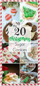 Looking for amazing Christmas cookies? This is a round up of some of my favorite Christmas recipes for cookies. Cookies are always a perfect dessert idea make make a great gift idea, too! When you have to bring food to a party, cookies are the way to go! Don't forget to bring a few in a box as gifts for the hostess!