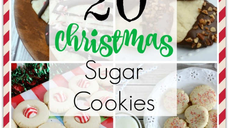 20 Christmas Sugar Cookies Your Family will Love!