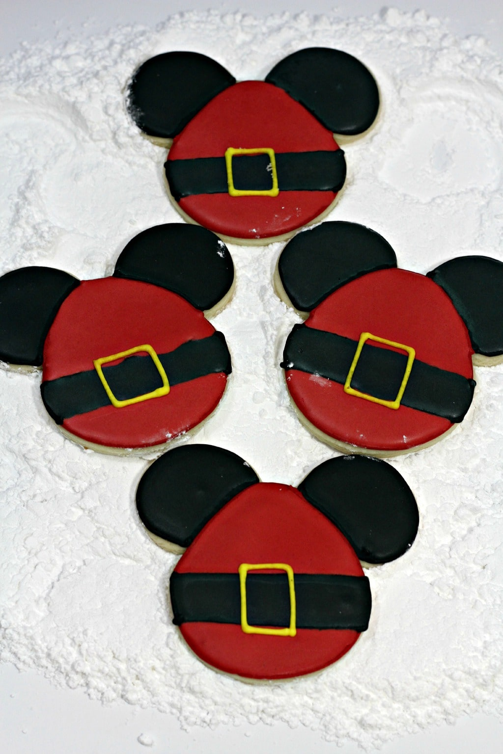 This recipe for Santa Mickey Sugar Cookies is perfect for a class party dessert! Get the kids to head to the kitchen with you to do some holiday baking! It's such a fun activity to do together.